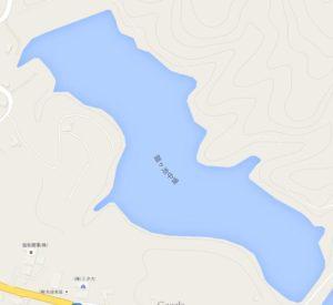 中堤の地図