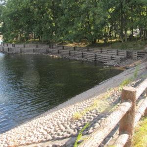 立岡池キャンプ場西側