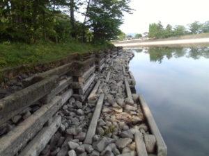 立岡池護岸