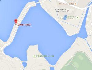 立岡池地図